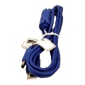 6ft USB A Male to USB 5 Pin Mini USB Male input.