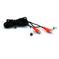 Twin RCA Plugs to Twin RCA Plugs - 3 Ft