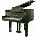Shoenhut Children's Baby Grand Piano 44 Key with Ebony Finish